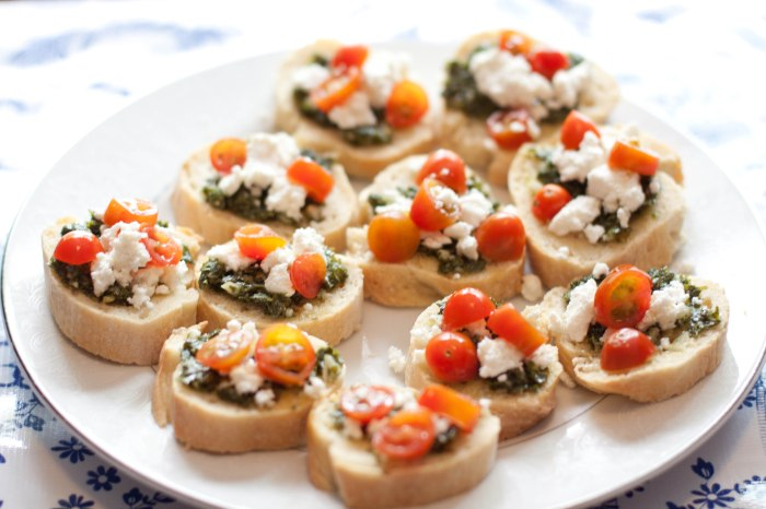 Homemade Baguette+ Homemade Ricotta + Homemade Chimichurri = the perfect From Scratch summer party appetizer!