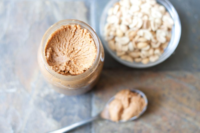 Never buy peanut butter again once you make your own from Alton Brown's recipe!