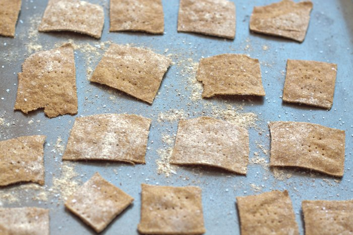 Spelt Crackers from Scratch