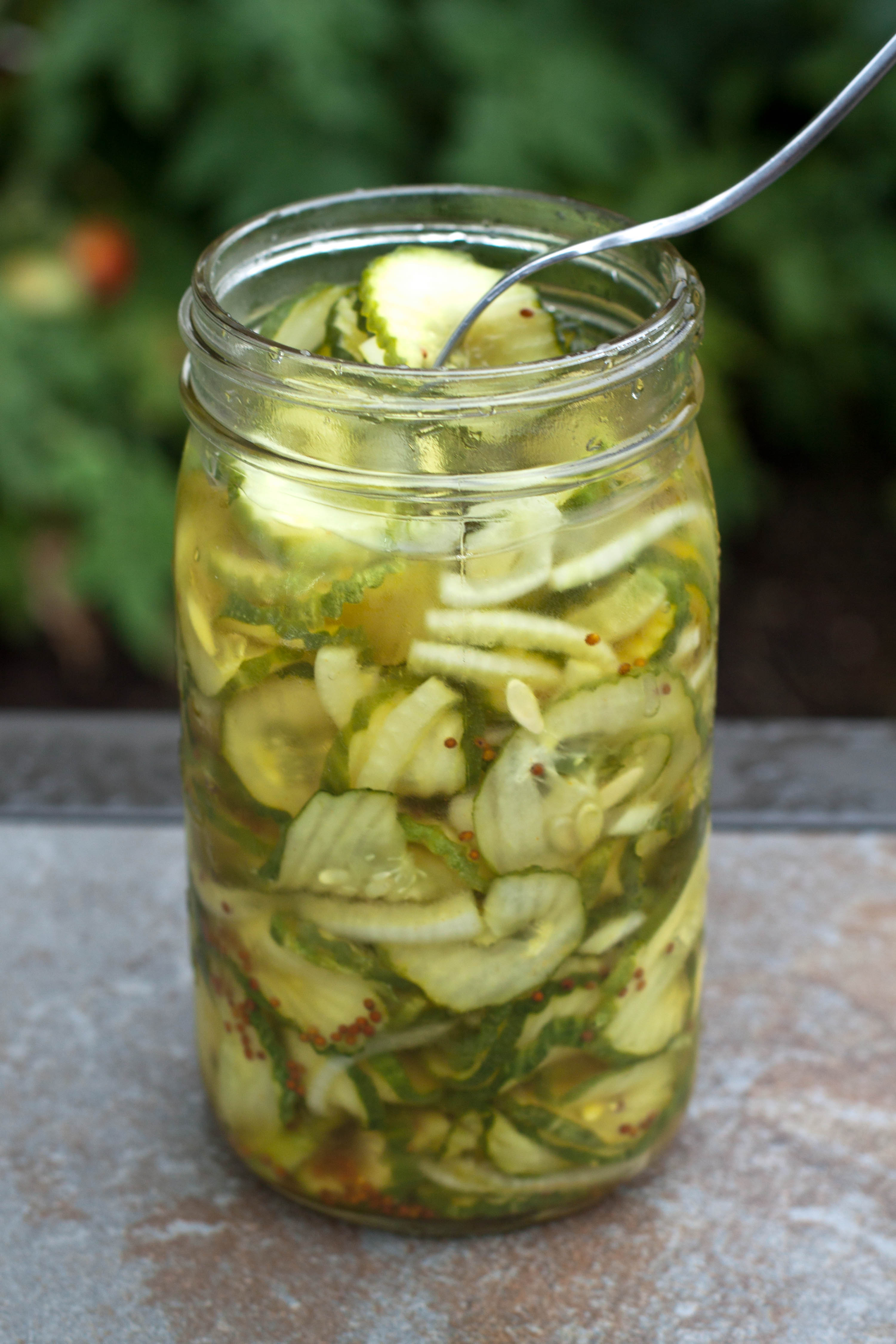 Bread and Butter Pickles - Served From Scratch