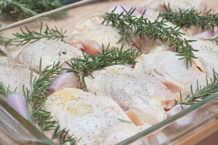 Weeknight Baked Rosemary Chicken
