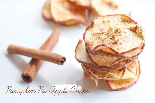 Pumpkin Pie Apple Crisps