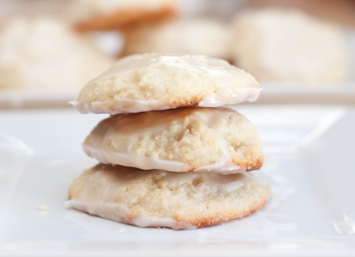 Lemon Ricotta Cookies from scratch with homemade ricotta cheese!